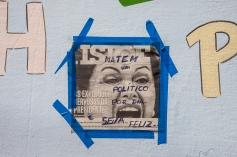 A crise econômica e política levou ao descontentamento em relação aos políticos e algumas instituições. Curitiba - Brasil.